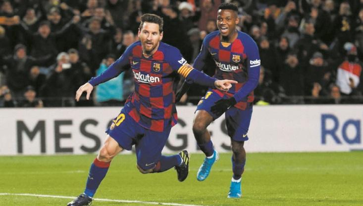 Messi offre une première réussie à Setién