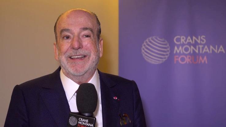 Le président-fondateur du Forum Crans Montana, Jean-Paul Carteron.