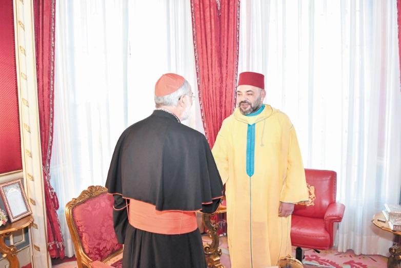 Le Souverain accorde une audience à l'archevêque de Rabat