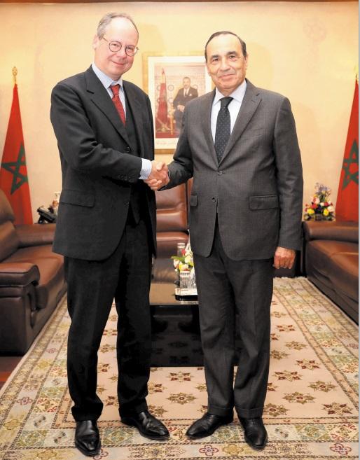 Habib El Malki reçoit l'ambassadeur d'Autriche à Rabat