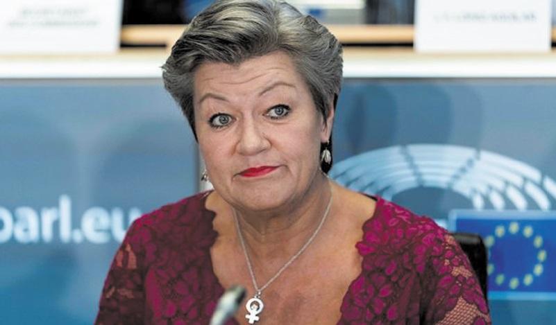 Ylva Johansson appelle les pays de l'UE à un compromis sur le partage de l'accueil des migrants
