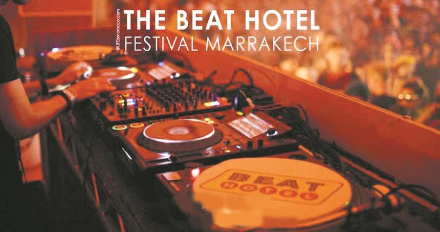 """Marrakech s'apprête à accueillir le 2ème  Festival """"Beat Hotel"""""""