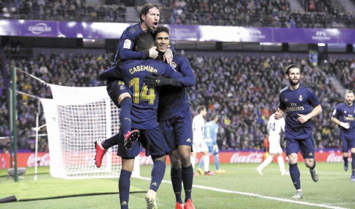 Liga : Le Real seul aux commandes