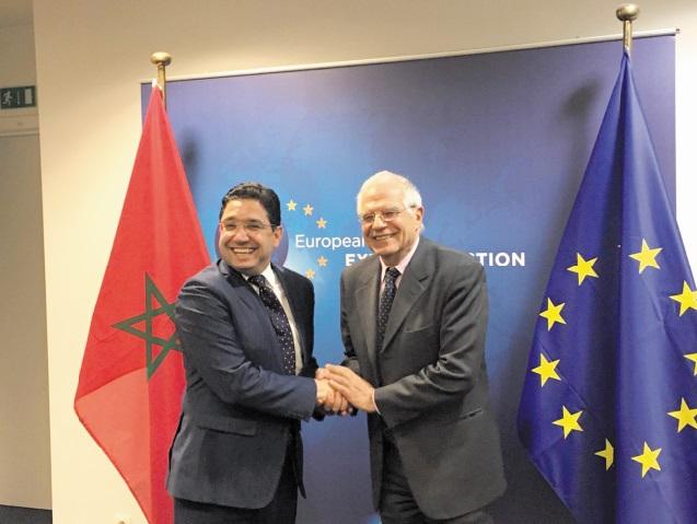 Josep Borrell salue la stabilité du Maroc et ses réformes profondes sous la conduite de S.M le Roi