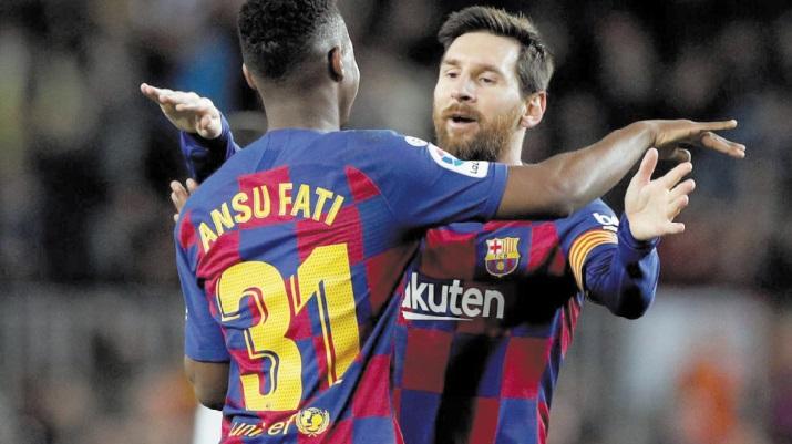 Liga : Premier doublé pour Ansu Fati