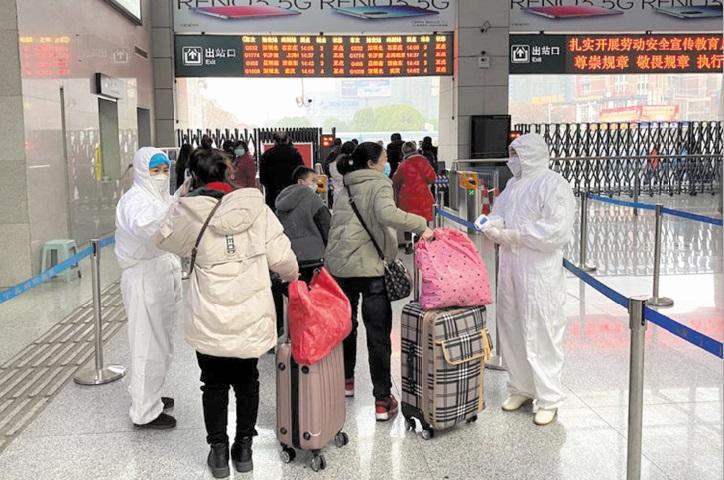 La Chine traque les voyageurs en provenance de l'épicentre du virus