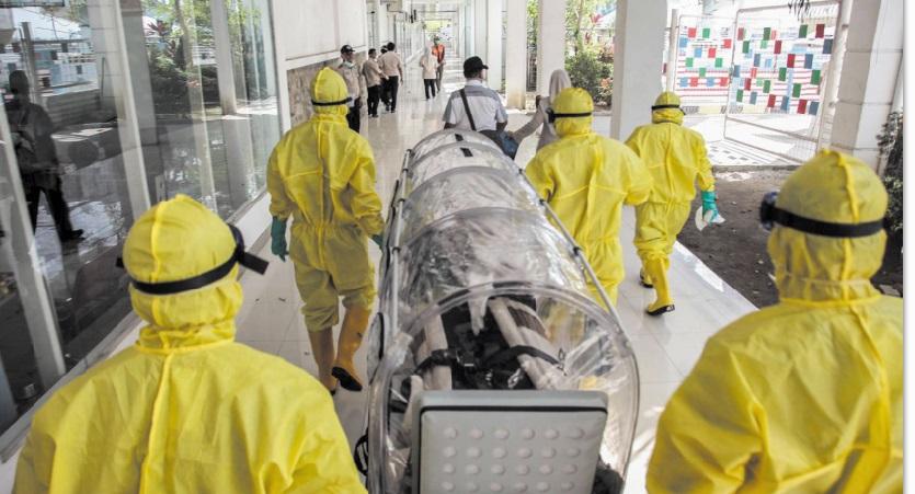 Le nombre des victimes et des contaminés par le coronavirus ne cesse d'aller crescendo