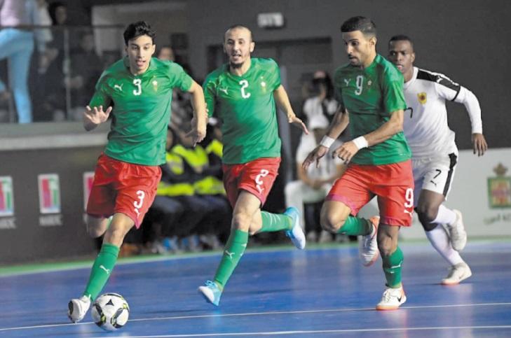 Comme prévu, le Maroc et l'Egypte en finale de la CAN de futsal