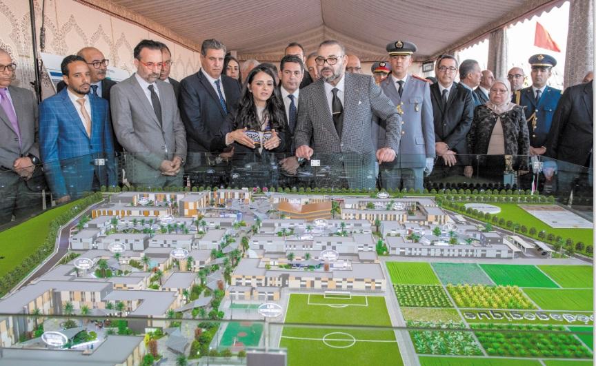 Intenses activités de S.M le Roi Mohammed VI à Agadir