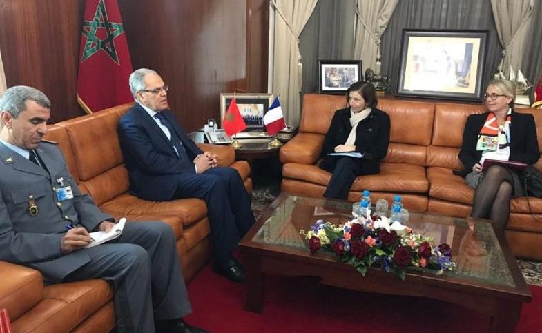 Visite à Rabat de la ministre française des Armées