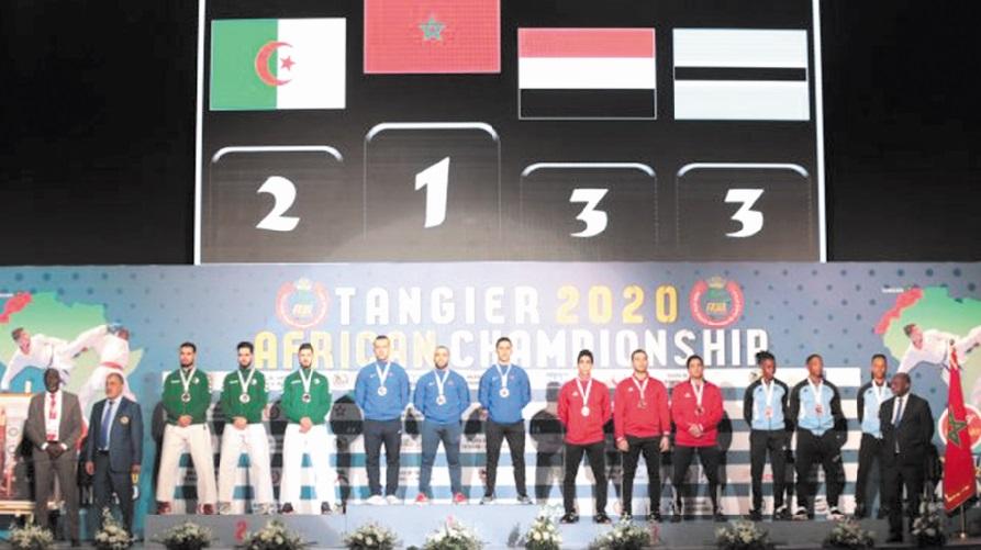 Consécration de la sélection marocaine au Championnat d'Afrique de karaté