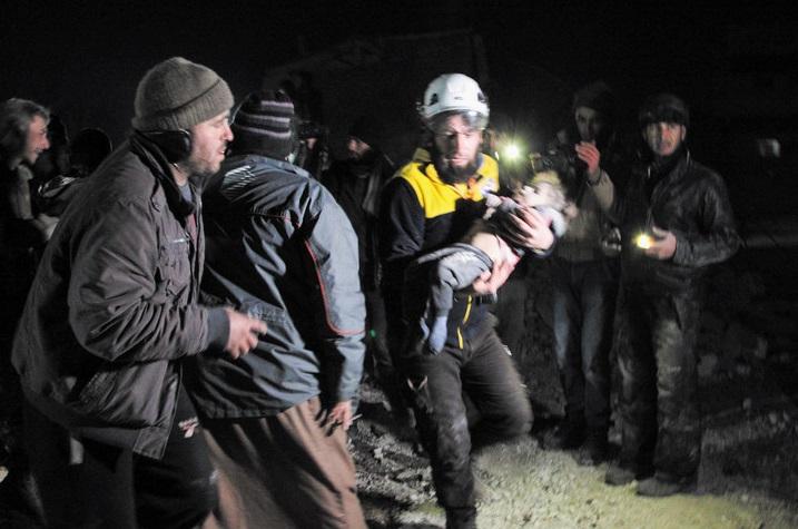 Au moins 29 civils tués dans des raids sur le nord-ouest syrien