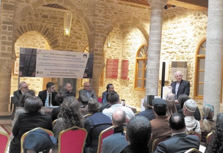 Bayt Dakira planche sur la singularité du droit hébraïque dans le droit marocain