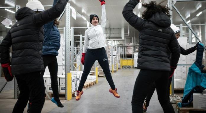 Courir dans un frigo ou comment se préparer à un raid dans le grand froid
