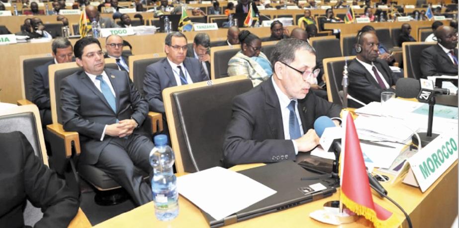 Le rapport de S.M le Roi sur l'Observatoire africain des migrations présenté devant le Sommet de l'UA