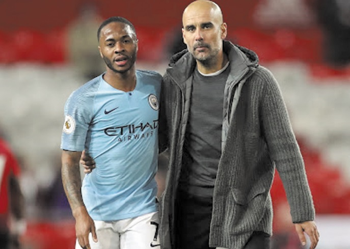 Guardiola et Sterling resteront à City même sans Coupe d'Europe