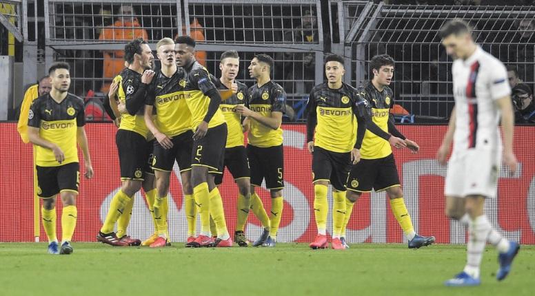 Ligue des champions : Dortmund et Atlético s'en tirent à bon compte