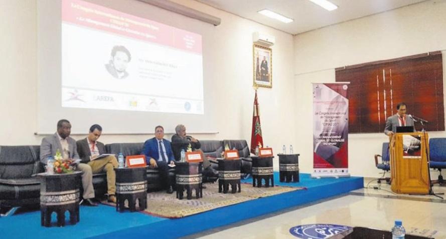Premier Congrès international du management du sport à Agadir