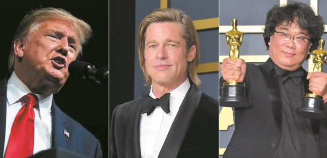 Trump critique l'attribution de l'Oscar à un film sud-coréen