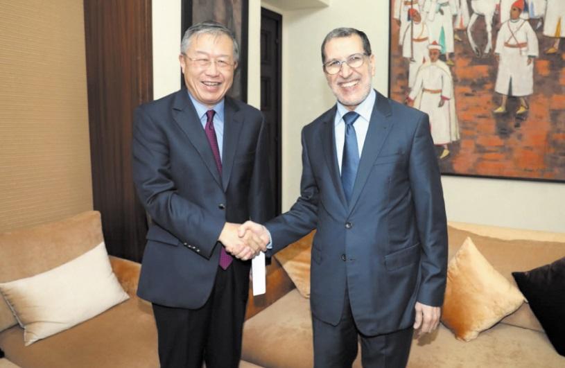 La solidité des relations entre le Royaume et la Chine mise en relief