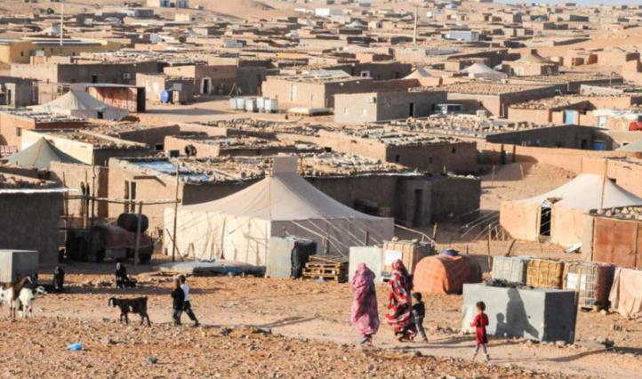 Marche de protestation contre les restrictions de déplacement dans les camps de Tindouf