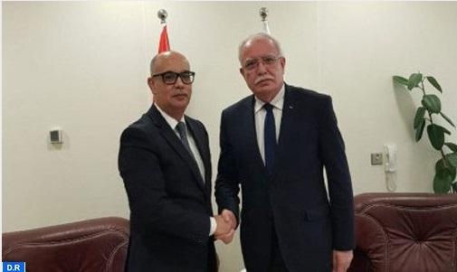 La Palestine réitère son soutien à l'intégrité territoriale du Maroc