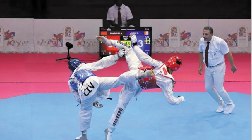 Qualification de trois taekwondistes marocains aux JO de Tokyo