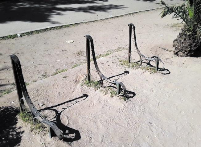 Le parc Murdoch victime d'un vandalisme aveugle