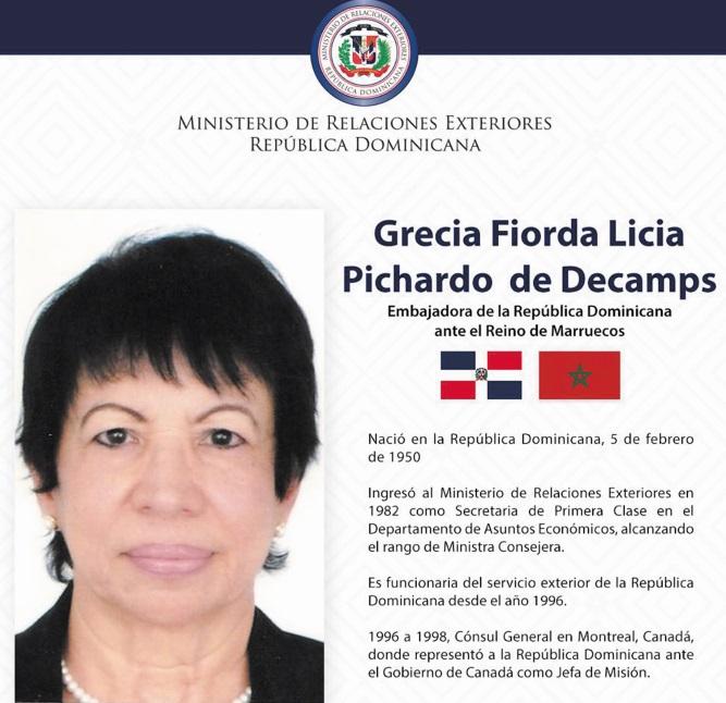 La République dominicaine réitère son soutien à notre intégrité territoriale