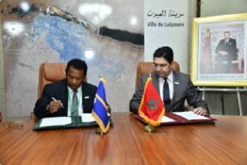 Signature de plusieurs accords de coopération entre le Maroc et les Etats insulaires du Pacifique
