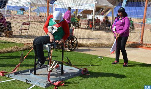 Meeting international de para-athlétisme de Marrakech : Victoire de la sélection marocaine