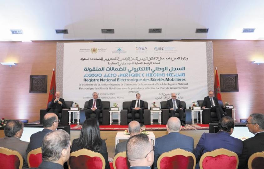Lancement officiel du Registre national électronique des sûretés mobilières