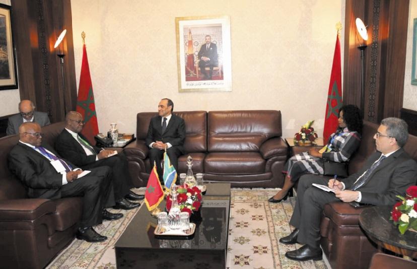 Appel à l'établissement de relations parlementaires exemplaires entre le Maroc et l'Afrique du Sud