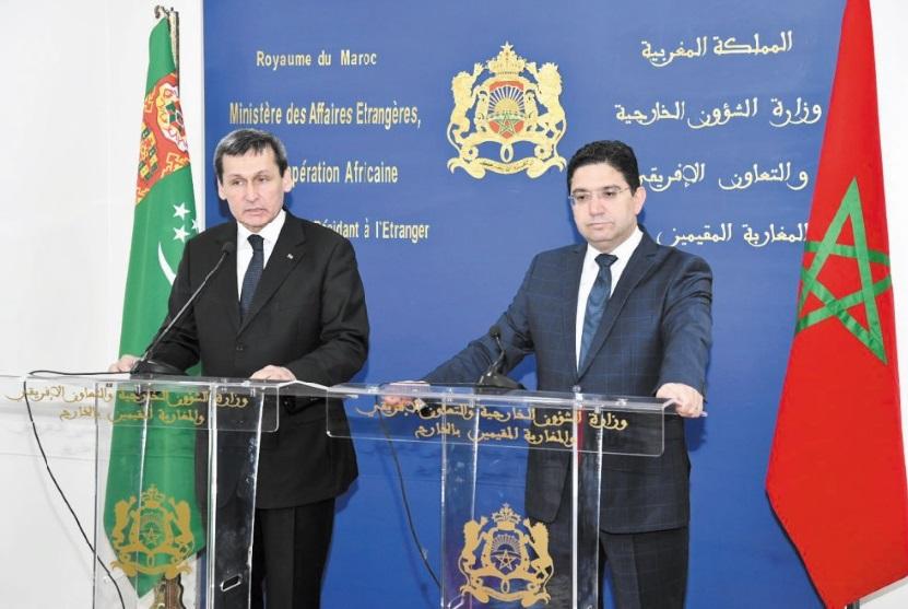 Le Turkménistan exprime son appui au Plan d'autonomie comme unique solution au différend sur le Sahara