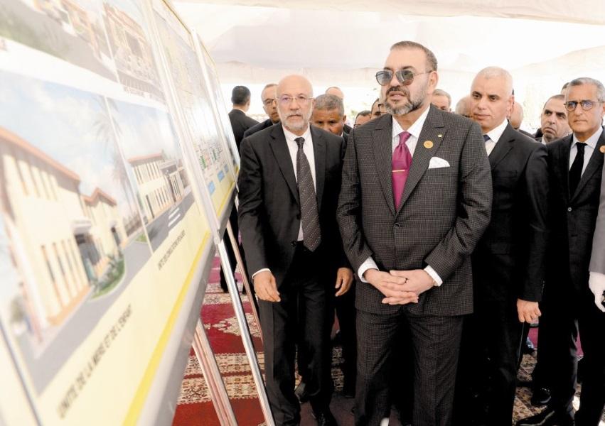 S.M le Roi lance les travaux de construction d'un Centre médical de proximité de la Fondation Mohammed V pour la solidarité à Fès