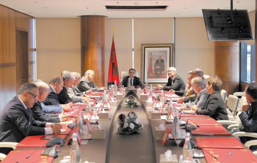Saâd Dine El Otmani se réunit avec les partis non représentés au Parlement