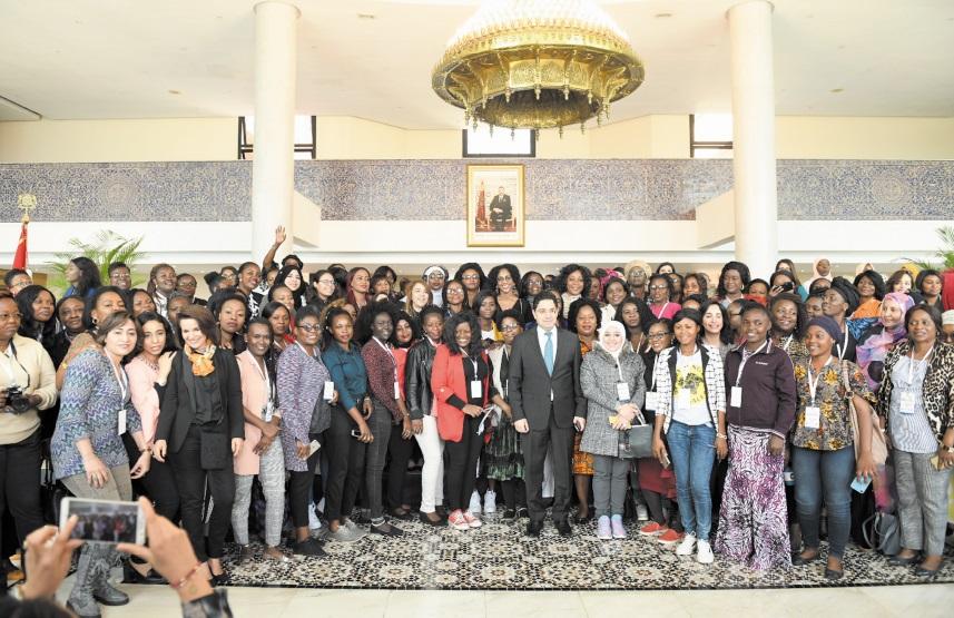 Les journalistes panafricaines reçues au siège du MAECI