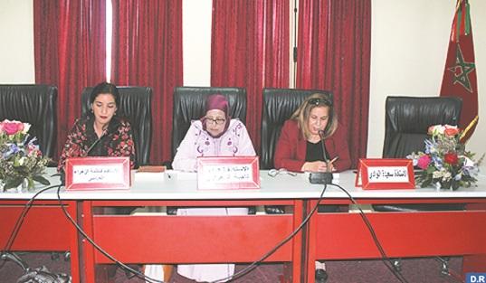 """Présentation à Marrakech de """"Lexique des femmes célèbres du Maroc"""" de Zahra Najia Zahraoui"""