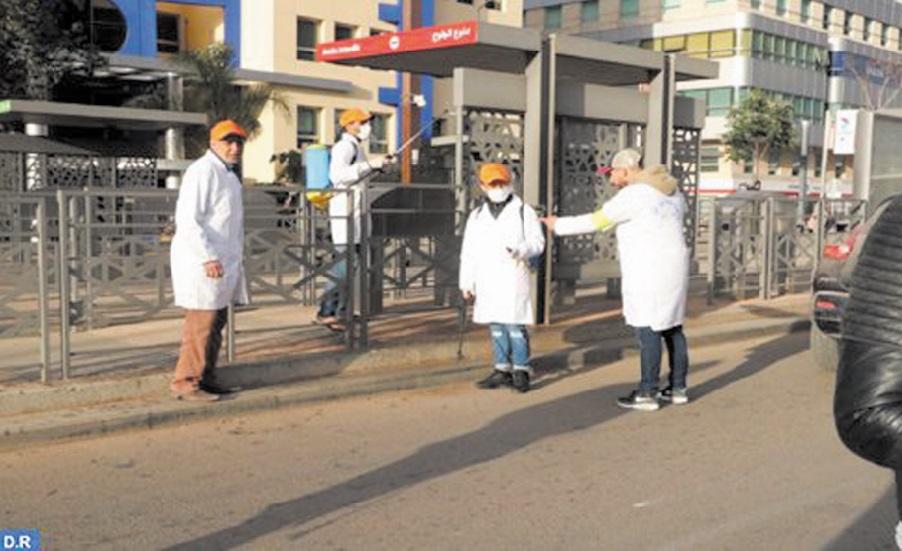 Vaste opération de désinfection et de stérilisation à travers le Royaume