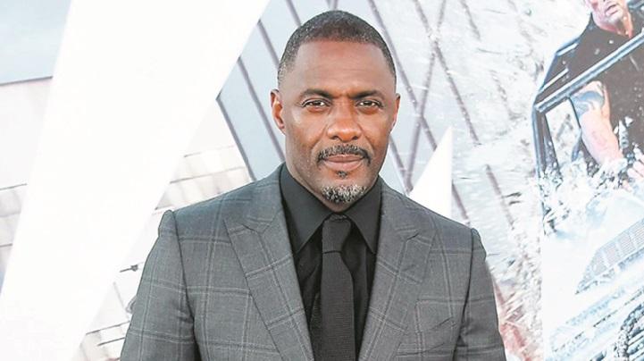 L'acteur britannique Idris Elba testé positif
