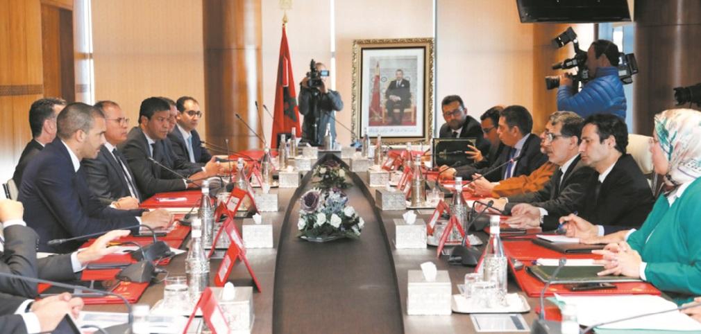Signature à Rabat du décret relatif au Fonds spécial pour la gestion de la pandémie du Covid-19