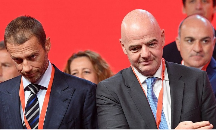 Entre Fifa et UEFA, la guerre du calendrier commence
