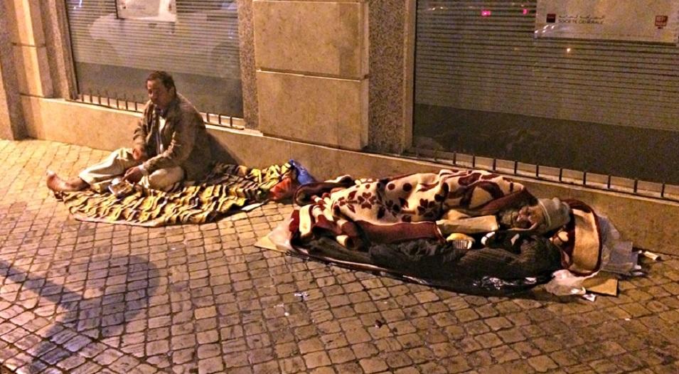 Au Maroc, les sans-abri dans l'inconnu