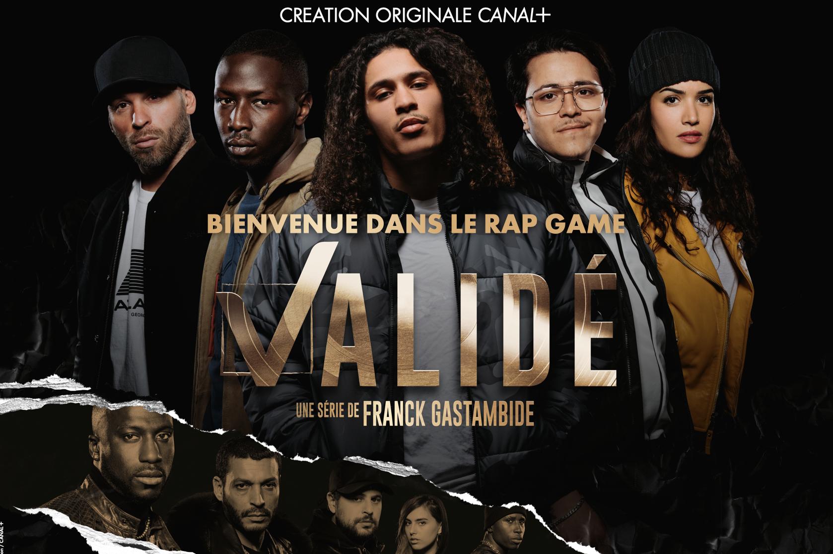 """""""Validé"""" , première série musclée sur le rap français"""