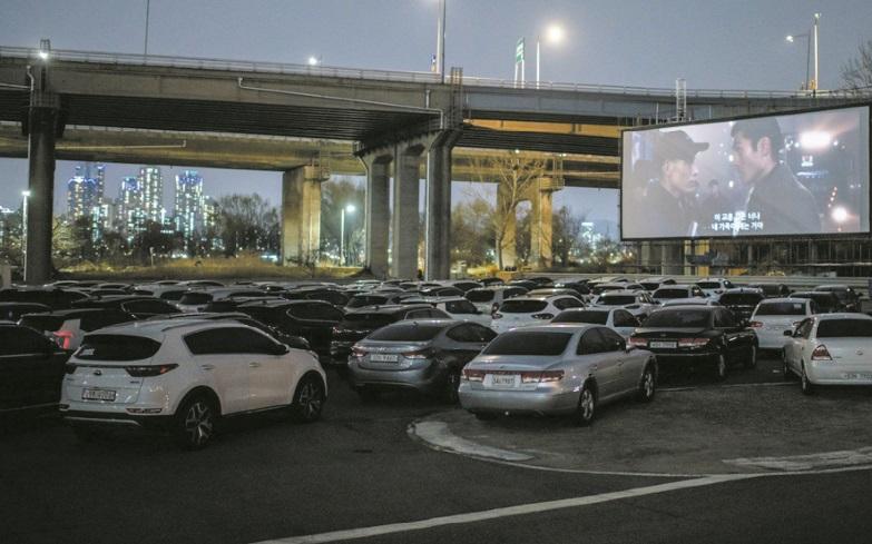 En Corée du Sud, le succès du cinéma en plein air