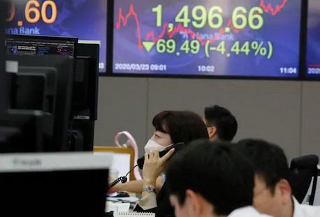 Le coronavirus continue à terrasser les marchés boursiers