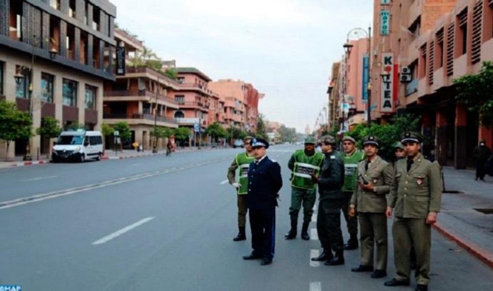 Marrakech se met en mode confinement
