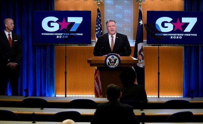 Réunion virtuelle du G7