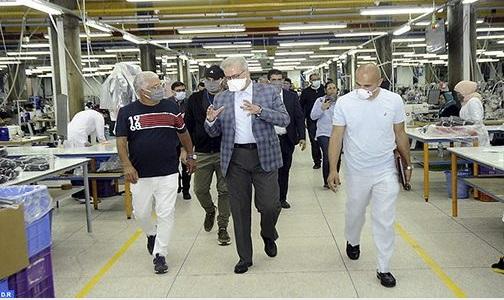 Des unités industrielles de Marrakech adaptent leurs activités aux efforts de lutte contre la pandémie