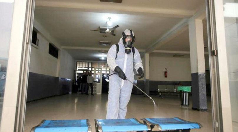 La désinfection, une bataille quotidienne contre le coronavirus